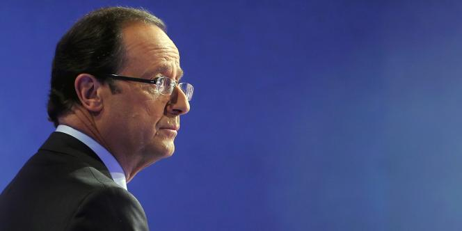 François Hollande, le 17 octobre 2011.