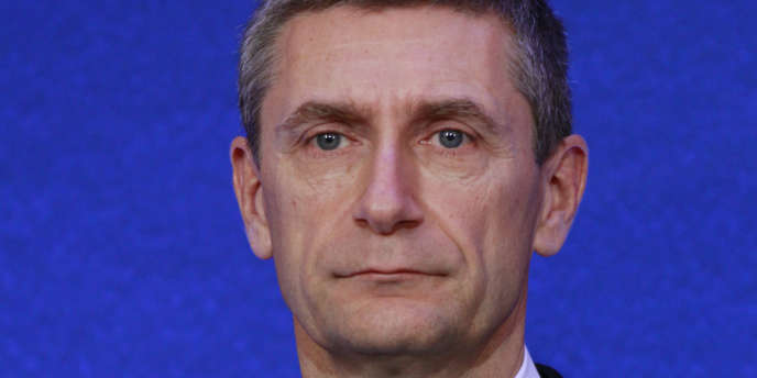 Le directeur général de la la police nationale (DGPN), Frédéric Péchenard, à Paris, le 21 janvier 2011.
