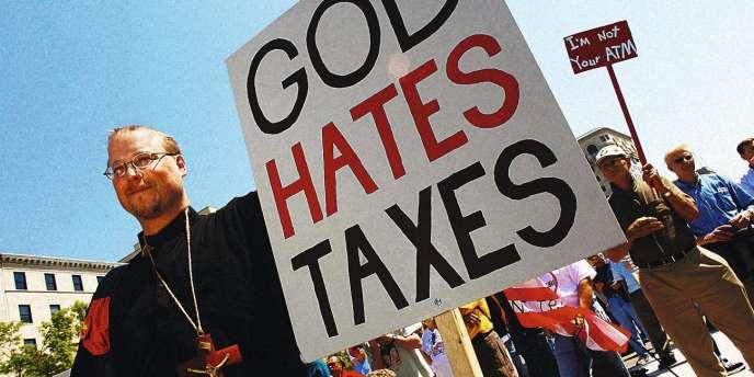 Rassemblement à l'appel du Tea Party à Washington à l'occasion de la