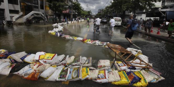 Bangkok, le 29 octobre 2011.