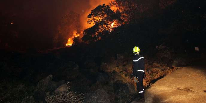 L'opposition et les élus réunionnais de tous bords réclament plus de moyens pour lutter contre l'incendie qui ravage l'île depuis une semaine.