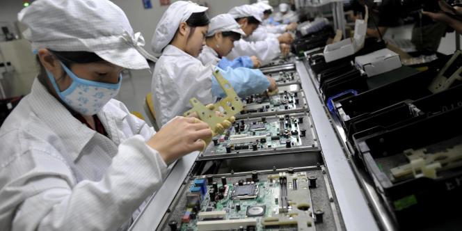 Chaque région a son propre salaire minimum, selon son niveau de développement : de 1 500 yuans dans la très avancée Shenzhen (photo), aux portes de Hongkong, à 870 yuans au plus pauvre Jiangxi.