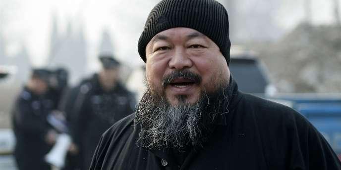 Le sculpteur, peintre, architecte, plasticien et dissident chinois Ai Weiwei.