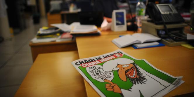 La couverture du numéro de Charlie Hebdo, baptisé