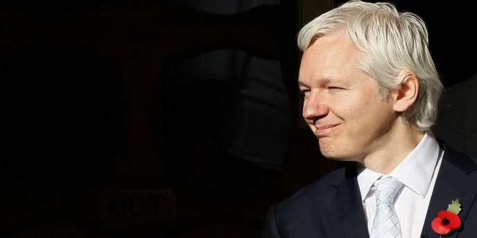 Julian Assange, le 2 novembre à Londres.
