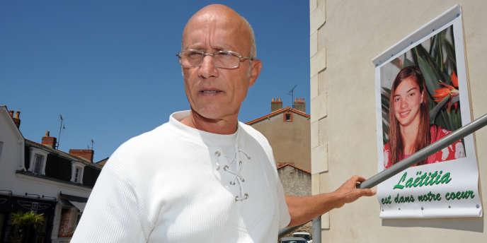 Le père de la famille d'accueil de Laëtitia Perrais, Gilles Patron, à Pornic, le 22 juin 2011.
