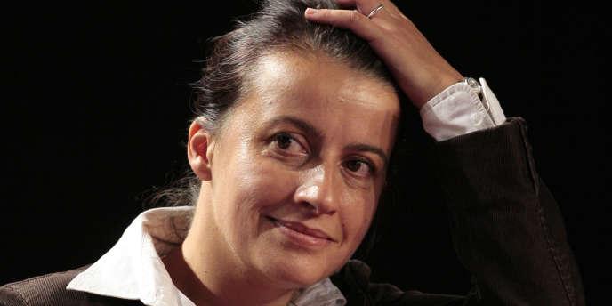 Cécile Duflot à la Fête de l'Humanité le 17 septembre à la Courneuve