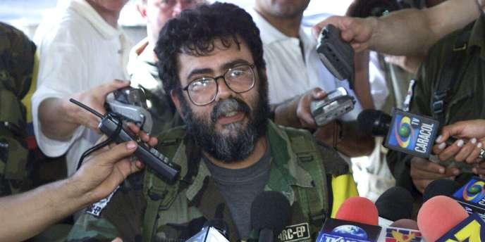 Alfonso Cano, en 2001.