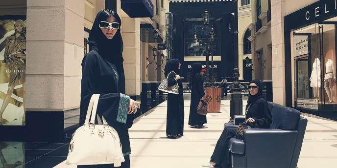 Le Mall of the Emirates à Dubai.