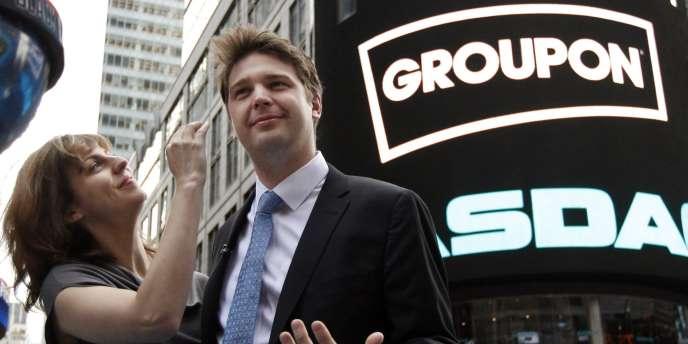Andrew Mason, le fondateur de Groupon, s'est félicité d'un