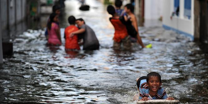 L'agence de l'ONU pour la réduction des risques de catastrophe a évalué le coût des inondations en Thaïlande à plus de 40 milliards de dollars.