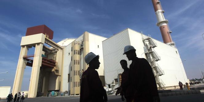 La centrale de Bouchehr, construite par la Russie à 1 200 kilomètres au sud de Téhéran.