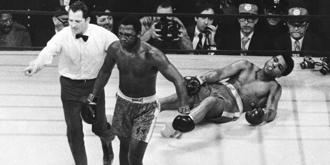 Joe Frazier avait été le premier homme à vaincre Mohammed Ali, en 1971 au Madison Square Garden de New York, dans ce qui fut surnommé