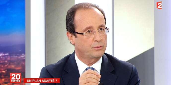 François Hollande en novembre 2011.