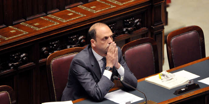 Angelino Alfano en avril 2011.