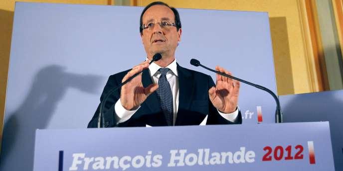 François Hollande, le 9 novembre 2011, à Paris.