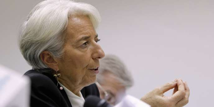 Christine Lagarde, le 8 novembre, à Moscou.