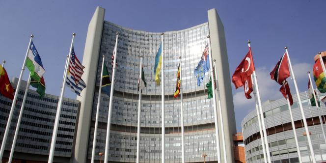 Le siège de l'Agence internationale de l'énergie atomique à Vienne – photo prise en 2005.