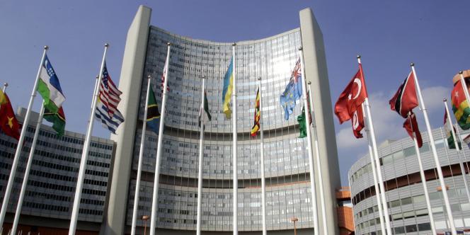 Le siège de l'AIEA (Agence internationale de l'énergie atomique) à Vienne (Autriche).