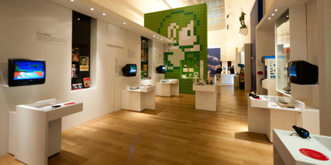 L'exposition Games Story, au grand Palais, à Paris.