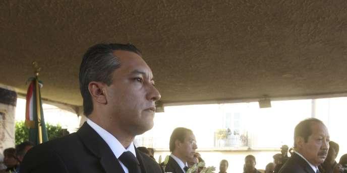 Le ministre de l'intérieur mexicain, Francisco Blake, le 3 novembre 2011.
