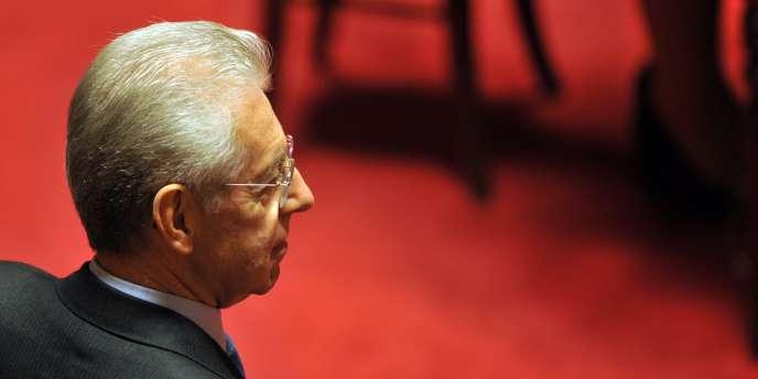 Le chef du gouvernement italien, Mario Monti, le 11 novembre 2011.