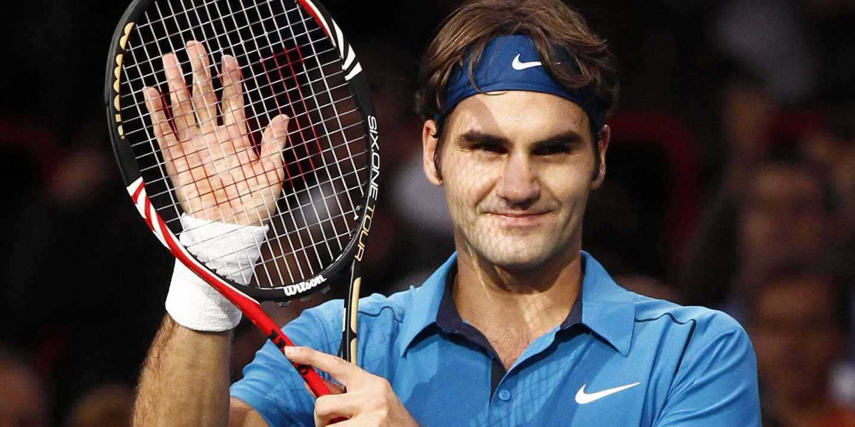 Tennis : Roger Federer...