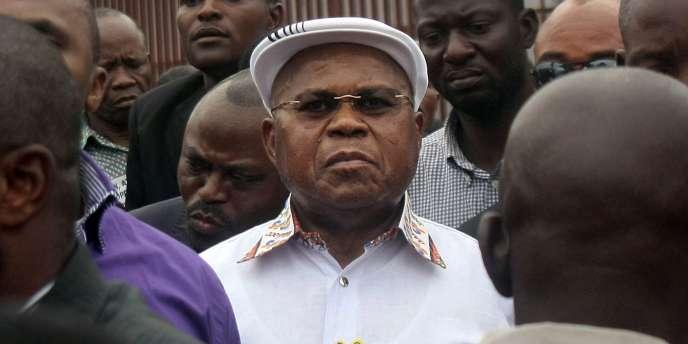 L'opposant Etienne Tshisekedi à Kinshasa, le 5 septembre 2011.
