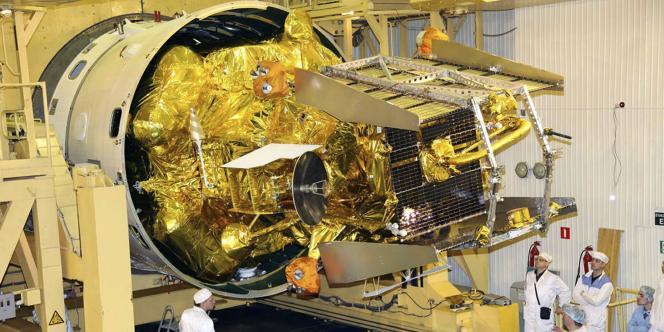 La sonde Phobos-Grunt sur le cosmodrome de Baïkonour, le 2 novembre.