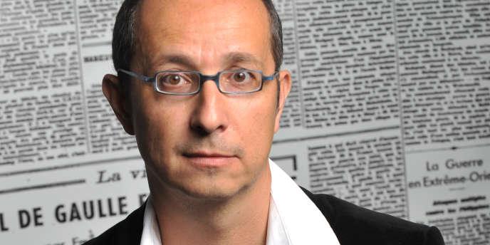 L'historien Nicolas Offenstadt, le 3 octobre 2009, lors d'une rencontre avec