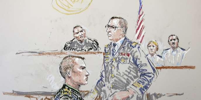 Le sergent Calvin Gibbs a été reconnu coupable de quinze chefs d'accusation, parmi lesquels trois meurtres avec préméditation.