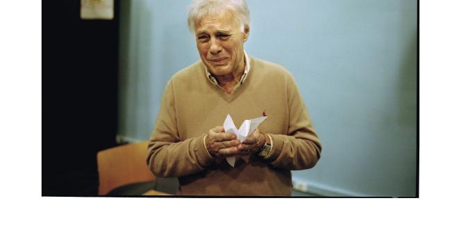 Guy Bedos, au Théâtre du Rond-Point, à Paris, au -premier jour des répétitions, le 31 octobre, de