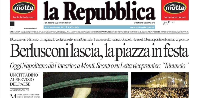 Chronique de Repubblica.it