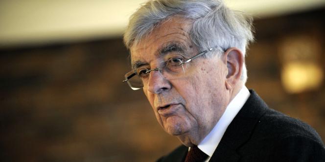 Jean-Pierre Chevènement en novembre 2011.