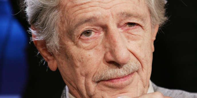 L'écrivain et fondateur des éditions Actes Sud, Hubert Nyssen, le 7 juin 2005.