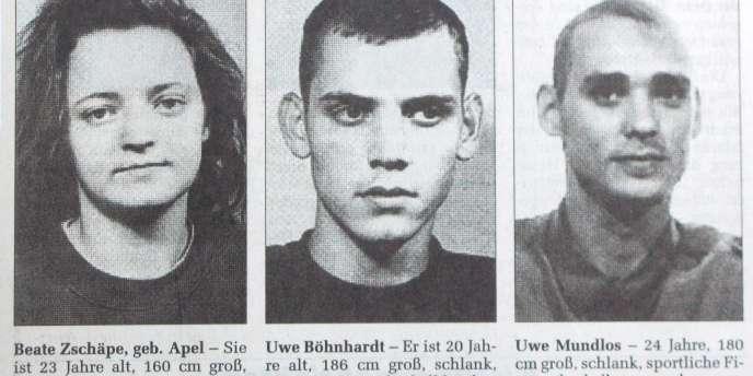Les trois tueurs néonazis présumés sont originaires de l'Est de l'Allemagne. Les deux hommes se sont suicidés.