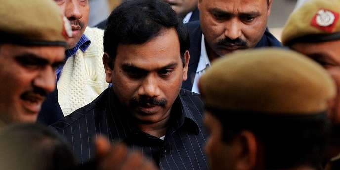 Andimuthu Raja, ancien ministre des télécommunications, est accusé d'avoir touché des pots-de-vin dans l'attribution de licences de téléphonie mobile 2G en 2008.
