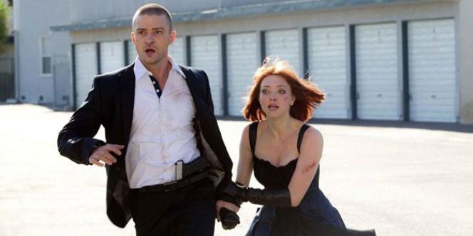 Justin Timberlake et Amanda Seyfried dans le film américain d'Andrew Niccol,