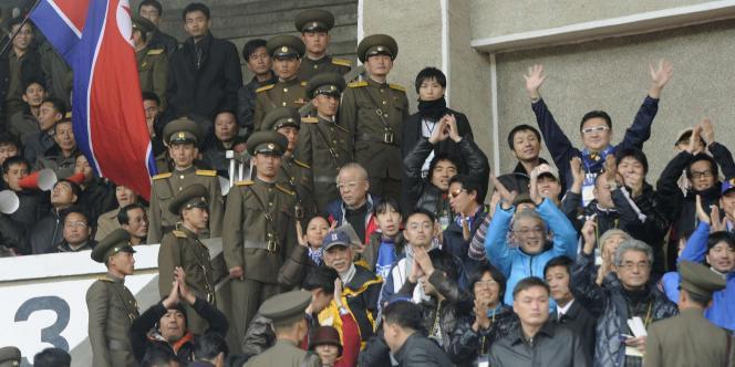 Le Japon a perdu 1-0 en Corée du Nord à Pyongyang.