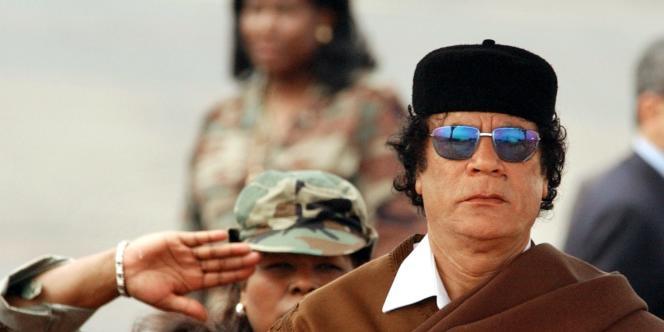 Le colonel Mouammar Kadhafi, le 21 mars 2005.