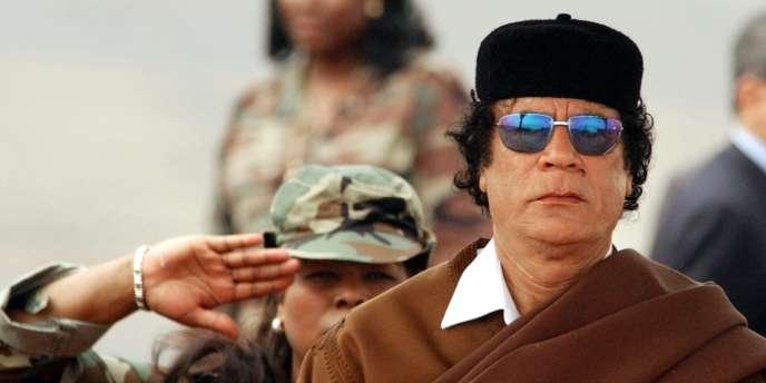 Mouammar Kadhafi.
