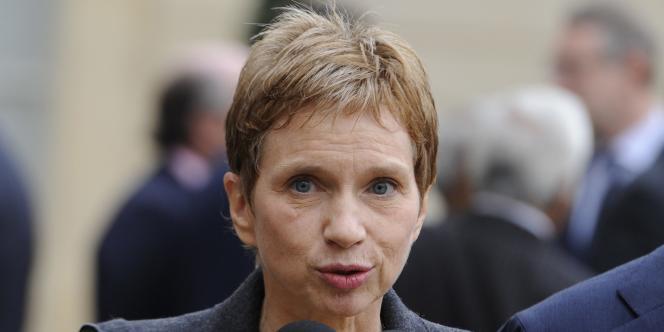 La présidente du Medef, Laurence Parisot, le 2 novembre 2011, à Paris.