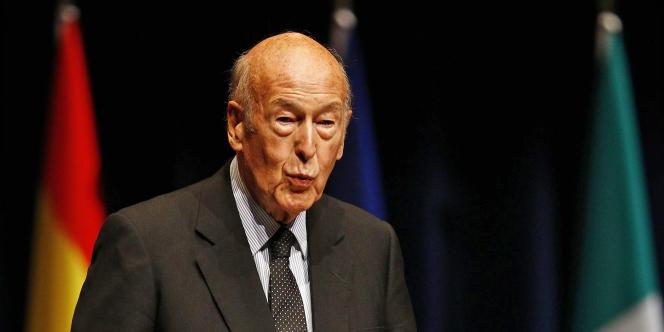 L'ancien président de la République, Valéry Giscard d'Estaing, à Francfort, le 19 octobre 2011.