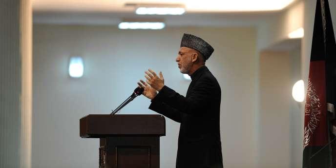 Hamid Karzaï, le 16 novembre 2011.