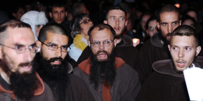 A Toulouse, le 16 novembre, manifestation de catholiques intégristes à l'occasion de la première de