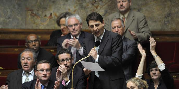 Le député PS Daniel Goldberg à l'Assemblée nationale en 2009. La circonscription qu'il convoitait sera finalement réservée à Elisabeth Guigou.