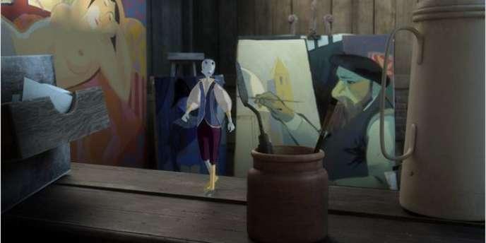 Une image du film d'animation français de Jean-François Laguionie,