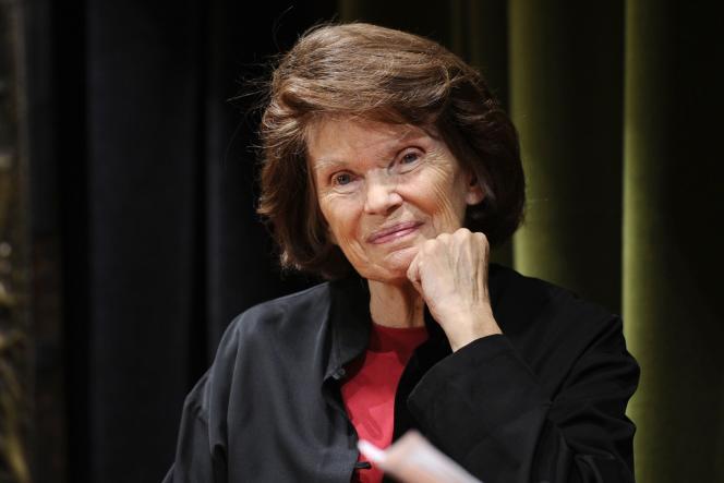 Danielle Mitterrand, le 4 octobre 2011.
