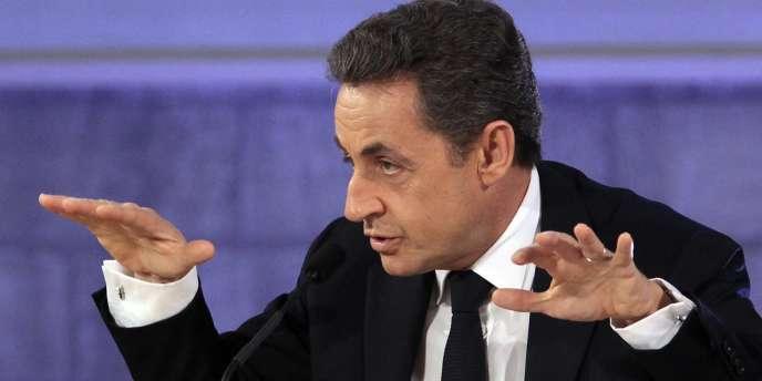 Nicolas Sarkozy à Avignon, le 18 novembre.