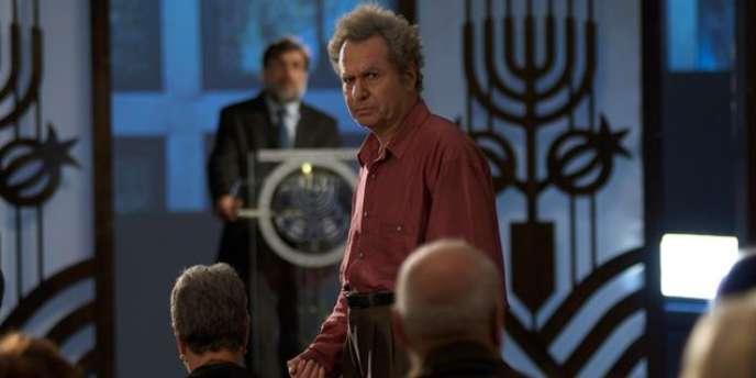 Shlomo Bar-Aba dans le film israélien de Joseph Cedar,
